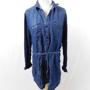 Anthropologie Cloth + Stone Denim Dress